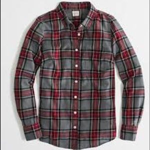 Jcrew The Perfect Shirt Flannel